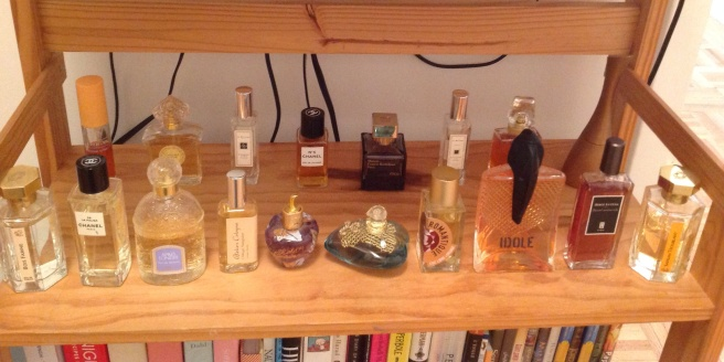 Current collection. Lose ten perfumes in one month with this one weird trick!