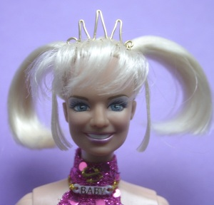 barbie doll tiara gold spike emma bunton baby spice girl
