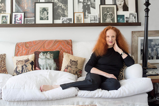 Call me when Grace comes out with a cat-pillow spray. Photo credit: Wall Street Journal.
